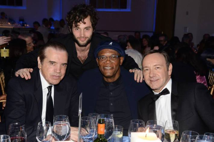 Guests at  at Museum of the Moving Image 28th Annual Salute Honoring Kevin Spacey