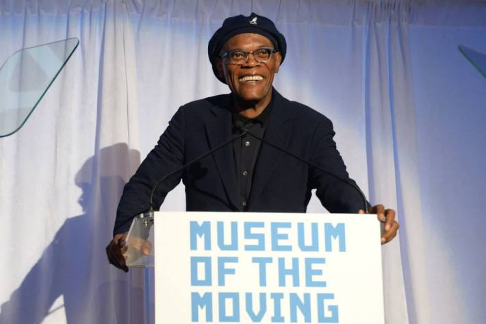 Samuel L. Jackson  attends  at Museum of the Moving Image 28th Annual Salute Honoring Kevin Spacey