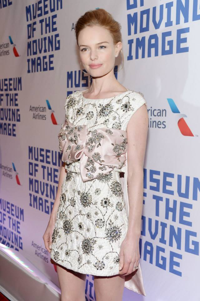 Kate Bosworth attends  at Museum of the Moving Image 28th Annual Salute Honoring Kevin Spacey