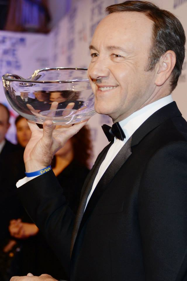 Kevin Spacey at the  Museum of the Moving Image 28th Annual Salute Honoring Kevin Spacey