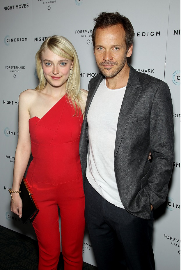 """Dakota Fanning and Peter Sarsgaard at Forevermark Presents a Special New York Screening of Cinedigm's """"Night Moves"""""""