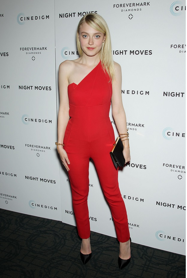 "Dakota Fanning  at Forevermark Presents a Special New York Screening of Cinedigm's ""Night Moves"""