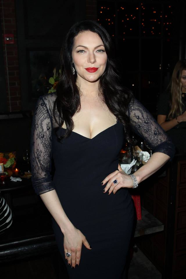 Actress Laura Prepon attends the 'Orange Is The New Black' season two premiere at Ziegfeld Theater