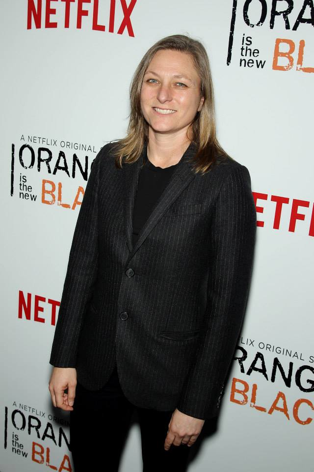 Cindy Holland, Netflix VP Original Content  attends the 'Orange Is The New Black' season two premiere at Ziegfeld Theater