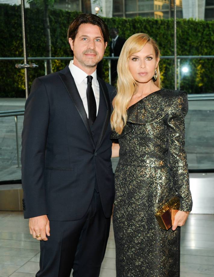 Rodger Berman, Rachel Zoe attend 2014 CFDA Fashion at Alice Tully Hall, Lincoln Center