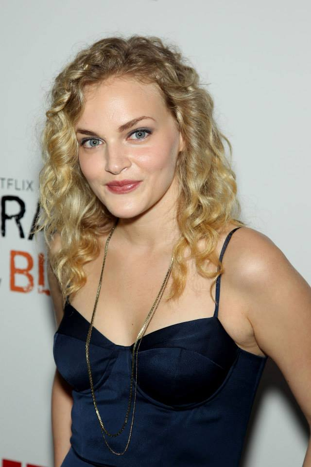 Actress Madeline Brewer attends the 'Orange Is The New Black' season two premiere at Ziegfeld Theater