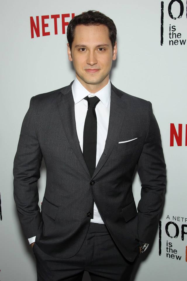 Actor Matt McGorry attends the 'Orange Is The New Black' season two premiere at Ziegfeld Theater