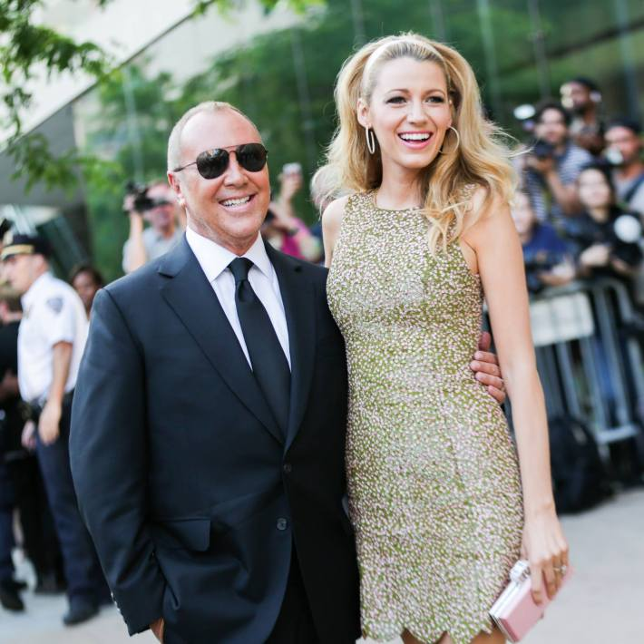 Blake Lively and Michael Kors attend 2014 CFDA Fashion at Alice Tully Hall, Lincoln Center