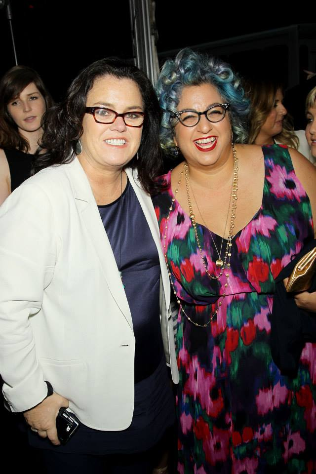 Jenji Kohan and Rosie O'Donnell attend the 'Orange Is The New Black' season two premiere at Ziegfeld Theater