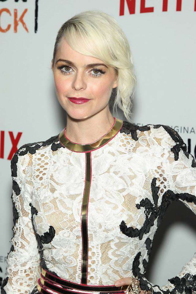 Actress Taryn Manning attends the 'Orange Is The New Black' season two premiere at Ziegfeld Theater