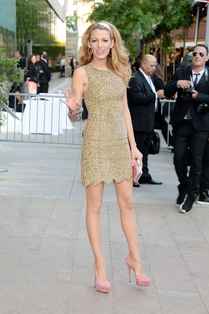 Blake Lively attends 2014 CFDA Fashion at Alice Tully Hall, Lincoln Center