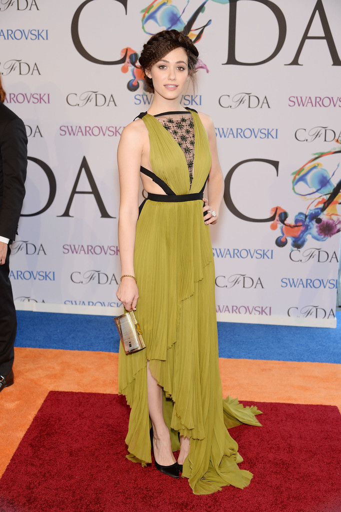 Emmy Rossum attends 2014 CFDA Fashion at Alice Tully Hall, Lincoln Center
