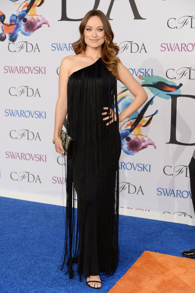 Olivia Wilde attends 2014 CFDA Fashion at Alice Tully Hall, Lincoln Center