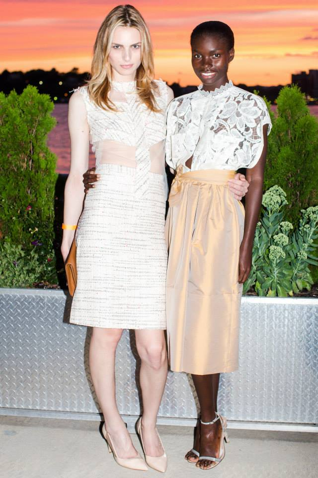 Andrej Pejic, Jeneil Williams attend Ali Forney Center's 5th Annual OASIS Summer Benefit  (Photo by BenjaminLozovsky)