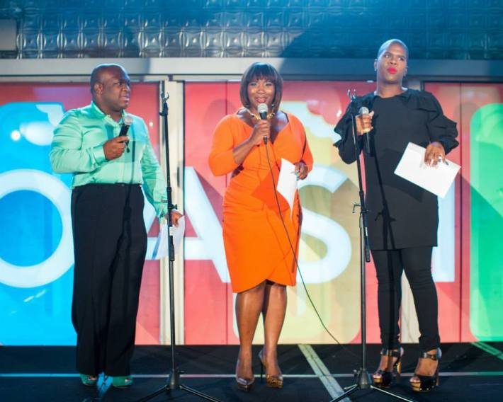 Derek J, Bevy Smith, Miss Lawrence at Ali Forney Center's 5th Annual OASIS Summer Benefit  (Photo by BenjaminLozovsky)