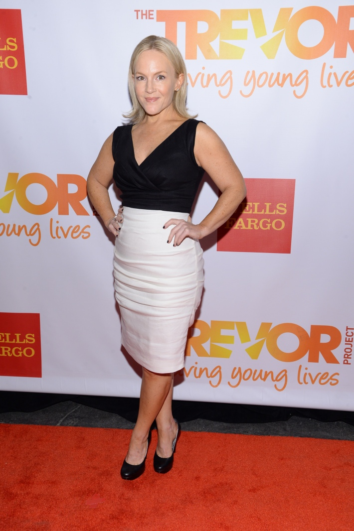 Actress Rachael Harris attends the Trevor Project's 2014 'TrevorLIVE NY' Event at the Marriott Marquis Hotel