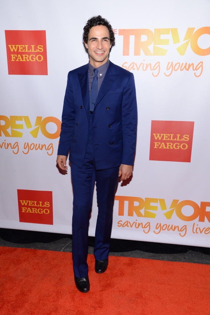 Fashion designer Zac Posen attends the Trevor Project's 2014 'TrevorLIVE NY' Event at the Marriott Marquis Hotel