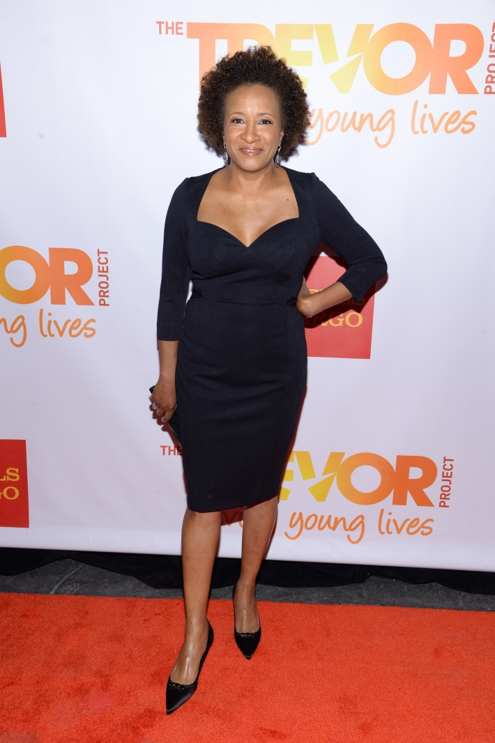 Wanda Sykes attends the Trevor Project's 2014 'TrevorLIVE NY' Event at the Marriott Marquis Hotel
