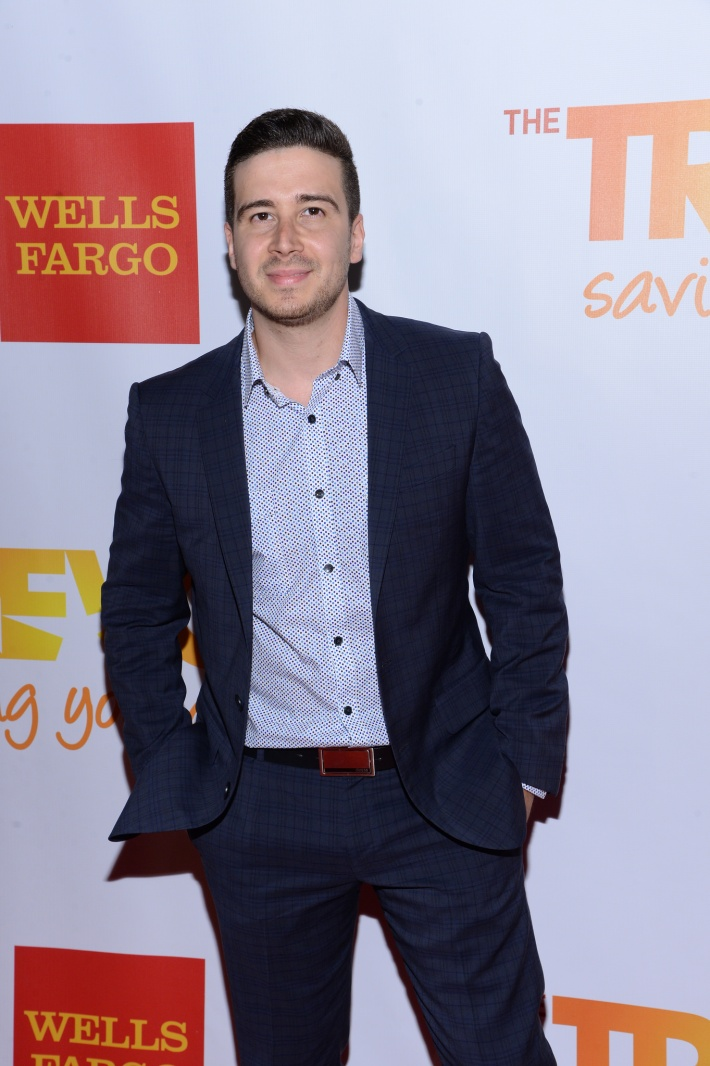 Vinny Guadagnino attends the Trevor Project's 2014 'TrevorLIVE NY' Event at the Marriott Marquis Hotel