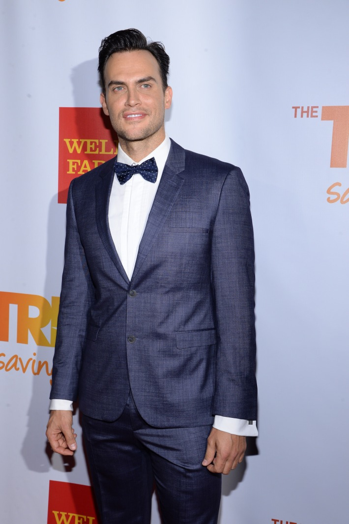 Actor Cheyenne Jackson attends the Trevor Project's 2014 'TrevorLIVE NY' Event at the Marriott Marquis Hotel