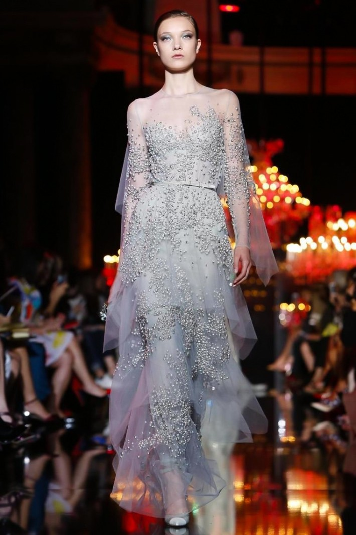 Elie Saab Haute Couture Fall/Winter 2014-2015 Runway