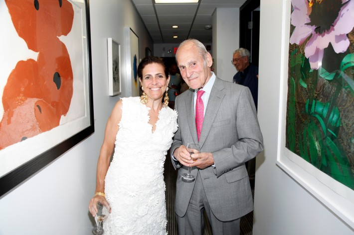 Alexandra Lebenthal, James A Lebenthal at The Grand Opening of the Lebenthal Bridgehampton Office (Photo by AdrielReboh)