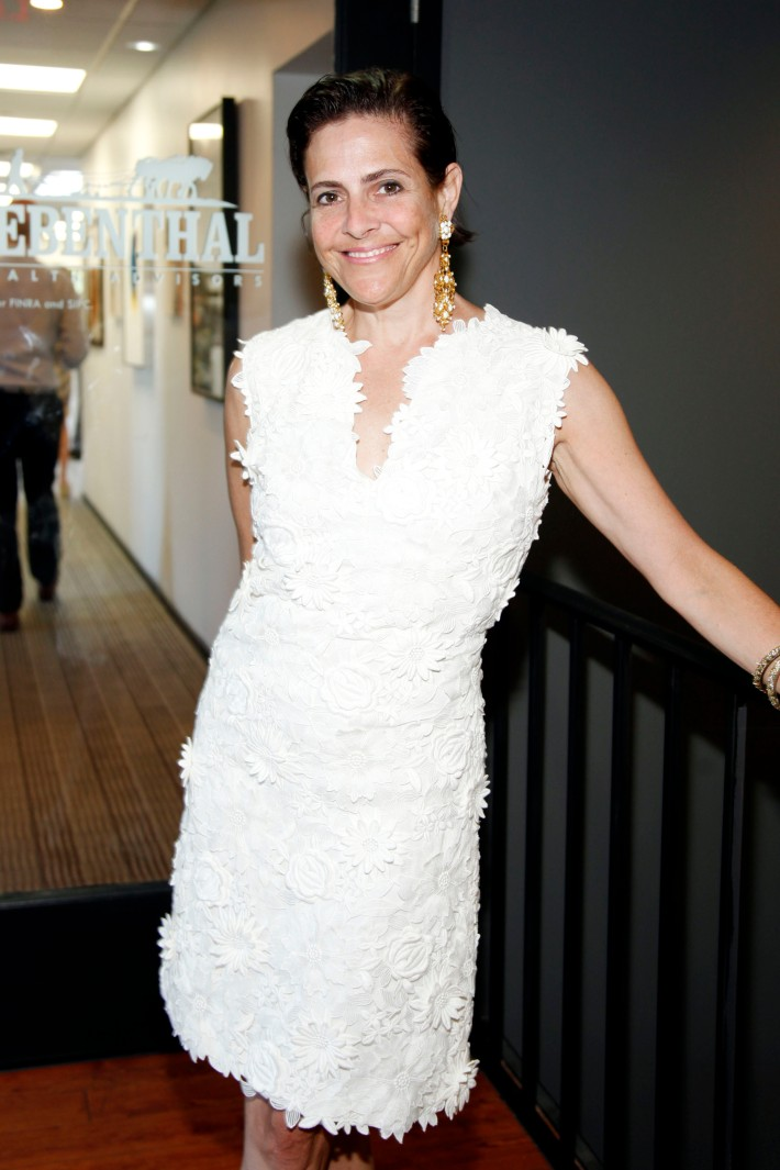 Alexandra Lebenthal at The Grand Opening of the Lebenthal Bridgehampton Office (Photo by AdrielReboh)