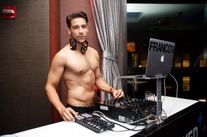 DJ Franco V at VH1's 'Dating Naked' series premiere at Gansevoort Park