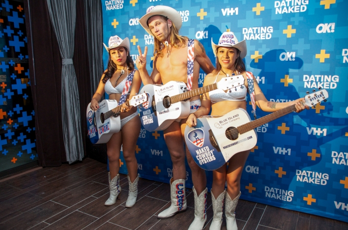 Robert Burck aka The Naked Cowboy attends VH1's 'Dating Naked' series premiere at Gansevoort Park