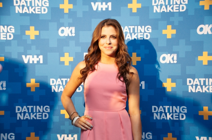 Clare Galteri attends VH1's 'Dating Naked' series premiere at Gansevoort Park