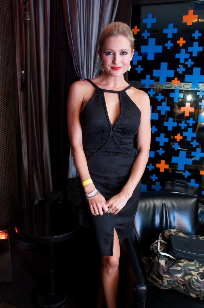 Katherine Bailess  attends VH1's 'Dating Naked' series premiere at Gansevoort Park Ave