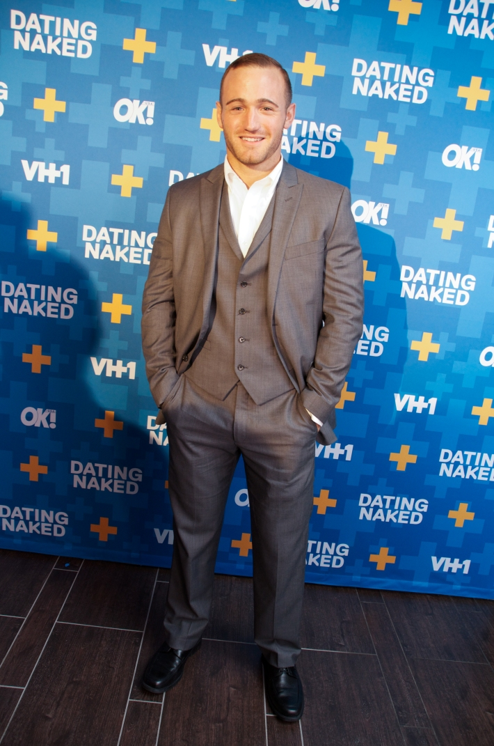 Michael Nacarri attends VH1's 'Dating Naked' series premiere at Gansevoort Park