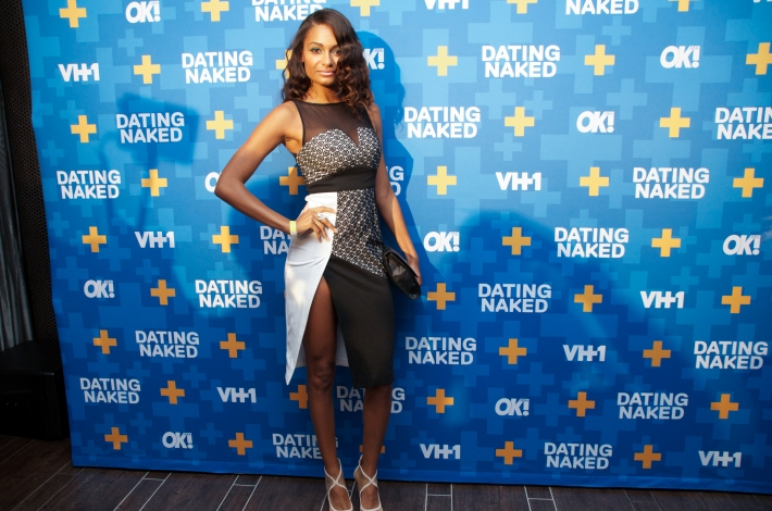 Amber Walker attends the 'Dating Naked' series premiere at Gansevoort Park Avenue