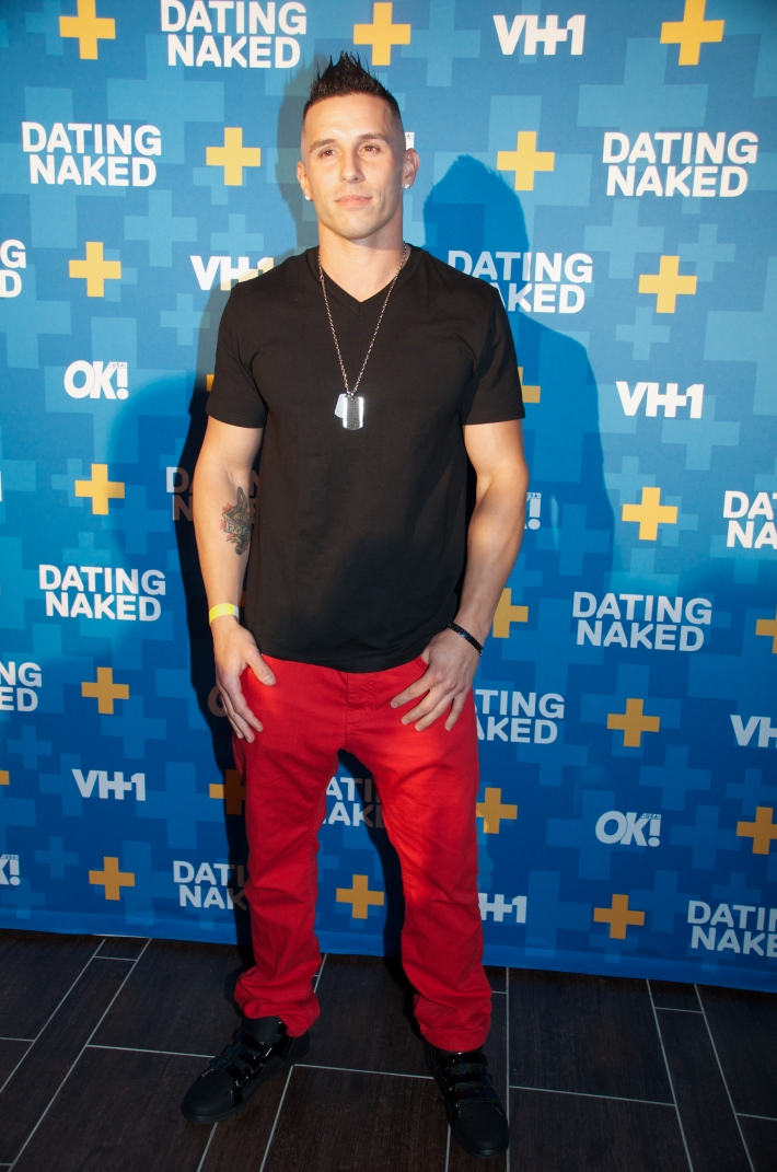Mikey P attends VH1's 'Dating Naked' series premiere at Gansevoort Park