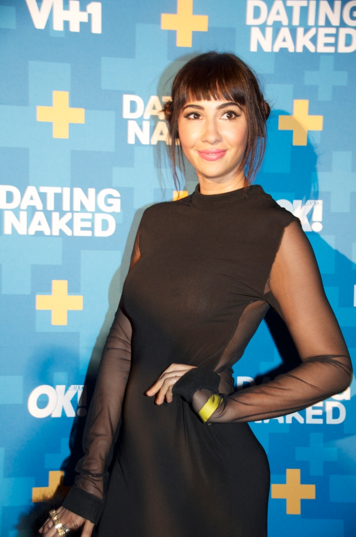 Actress Jackie Cruz attends VH1's 'Dating Naked' series premiere at Gansevoort Park