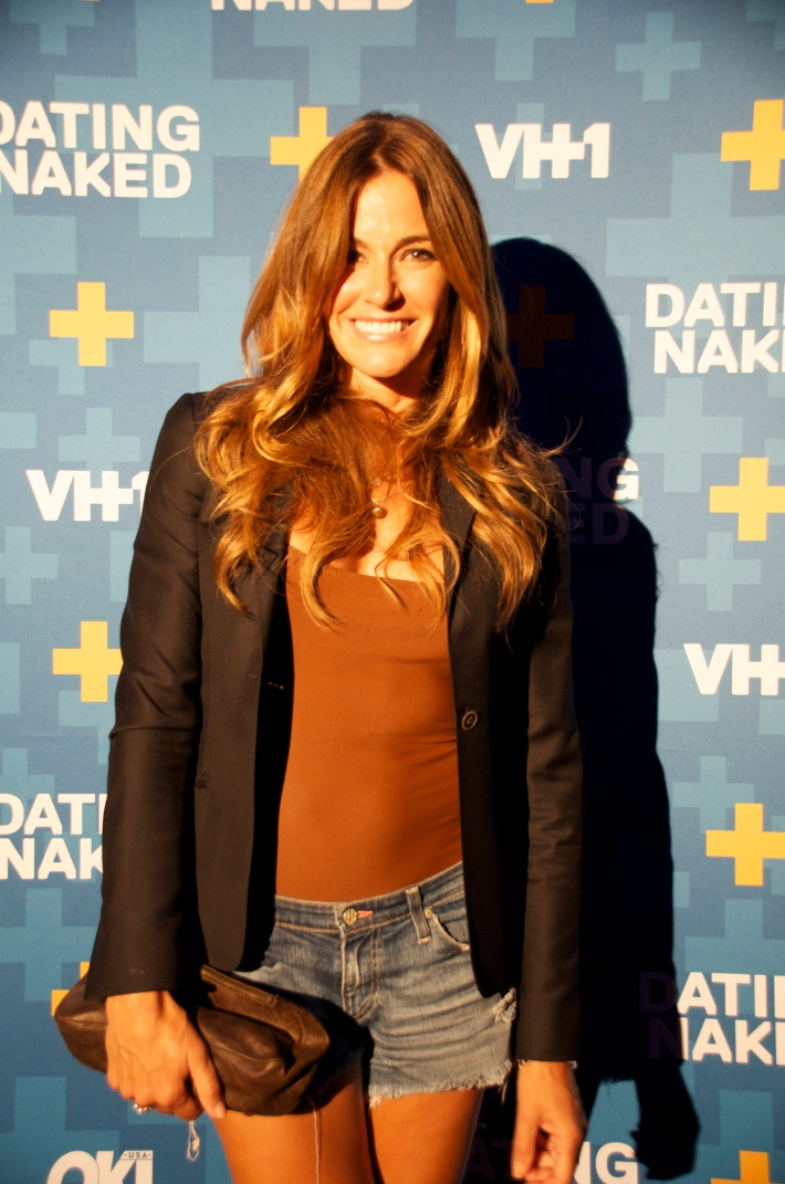 Kelly Bensimon attends VH1's 'Dating Naked' series premiere at Gansevoort Park