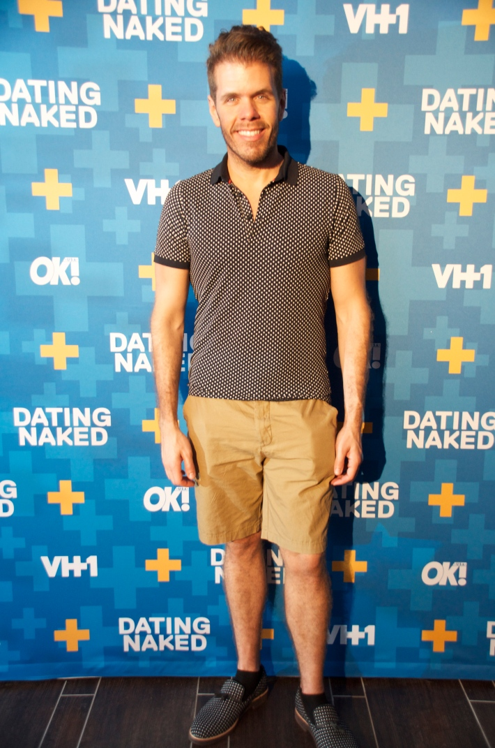 Perez Hilton attends VH1's 'Dating Naked' series premiere at Gansevoort Park
