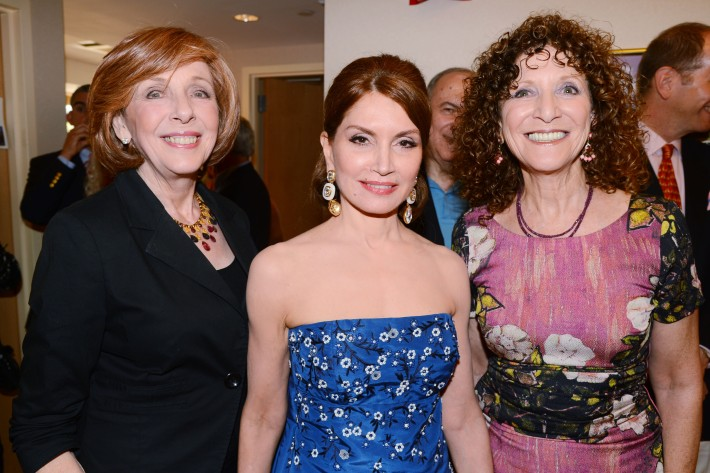 Emily Levin, Jean Shafiroff, Julie Ratnerattend The Ellen Hermanson Foundation's Summer Solstice Gala (Photo by Patrick McMullan)