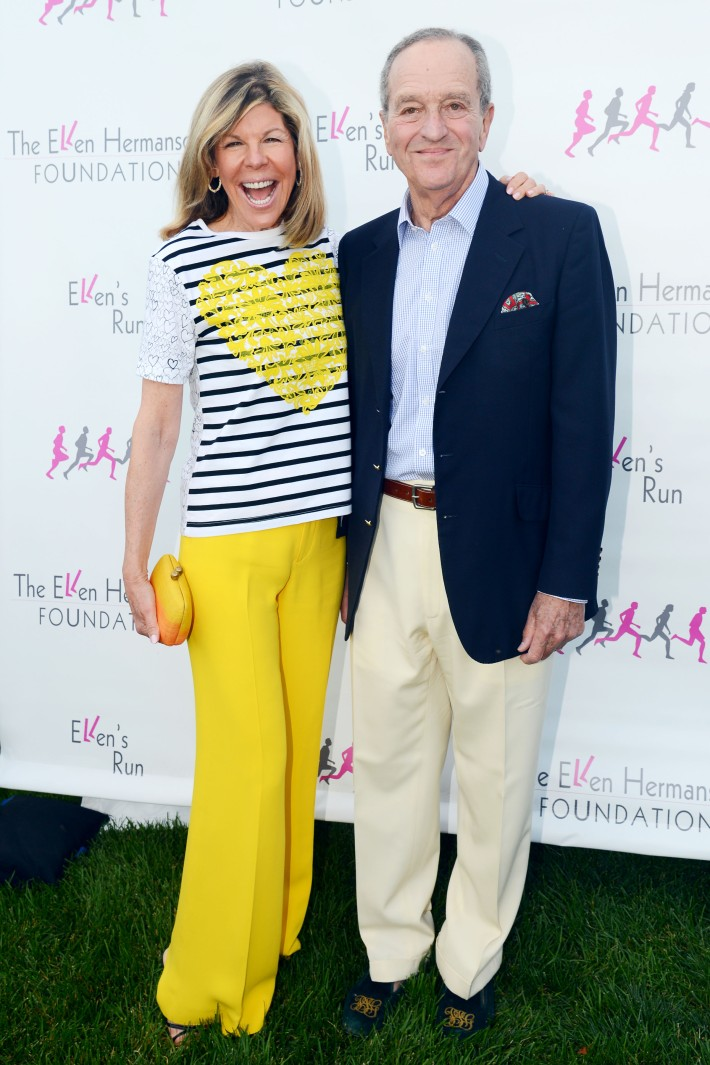 Jamee Gregory, Peter Gregory attend The Ellen Hermanson Foundation's Summer Solstice Gala (Photo by Patrick McMullan)