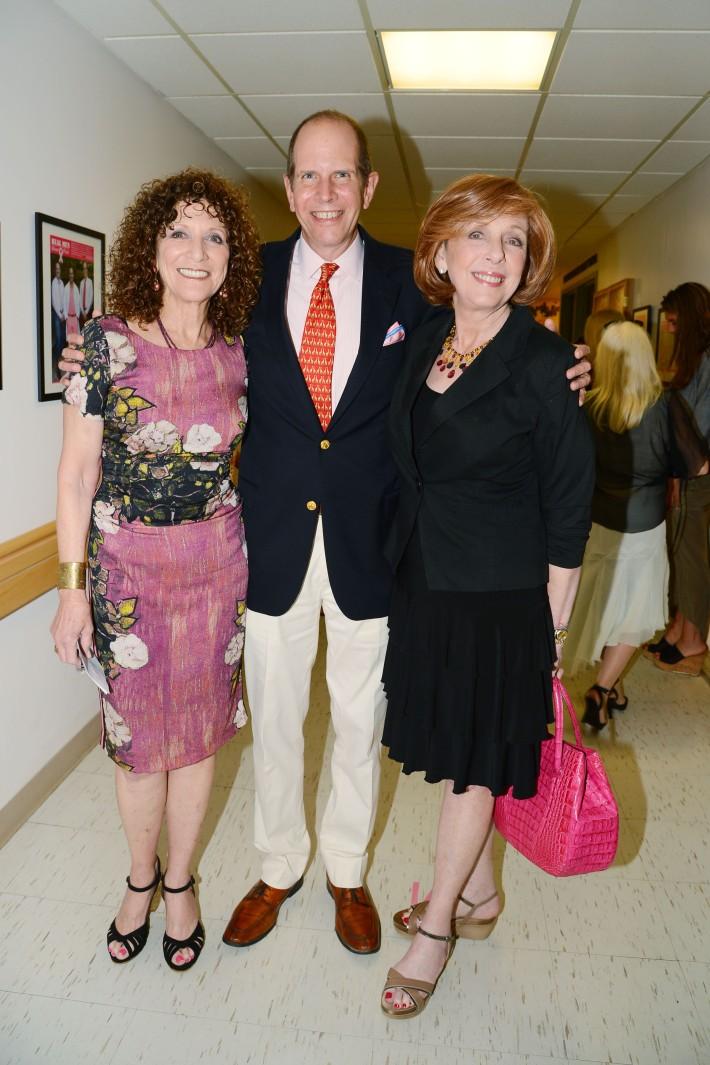Julie Ratner, Robert Chaloner, Emily Levin attend The Ellen Hermanson Foundation's Summer Solstice Gala (Photo by Patrick McMullan)