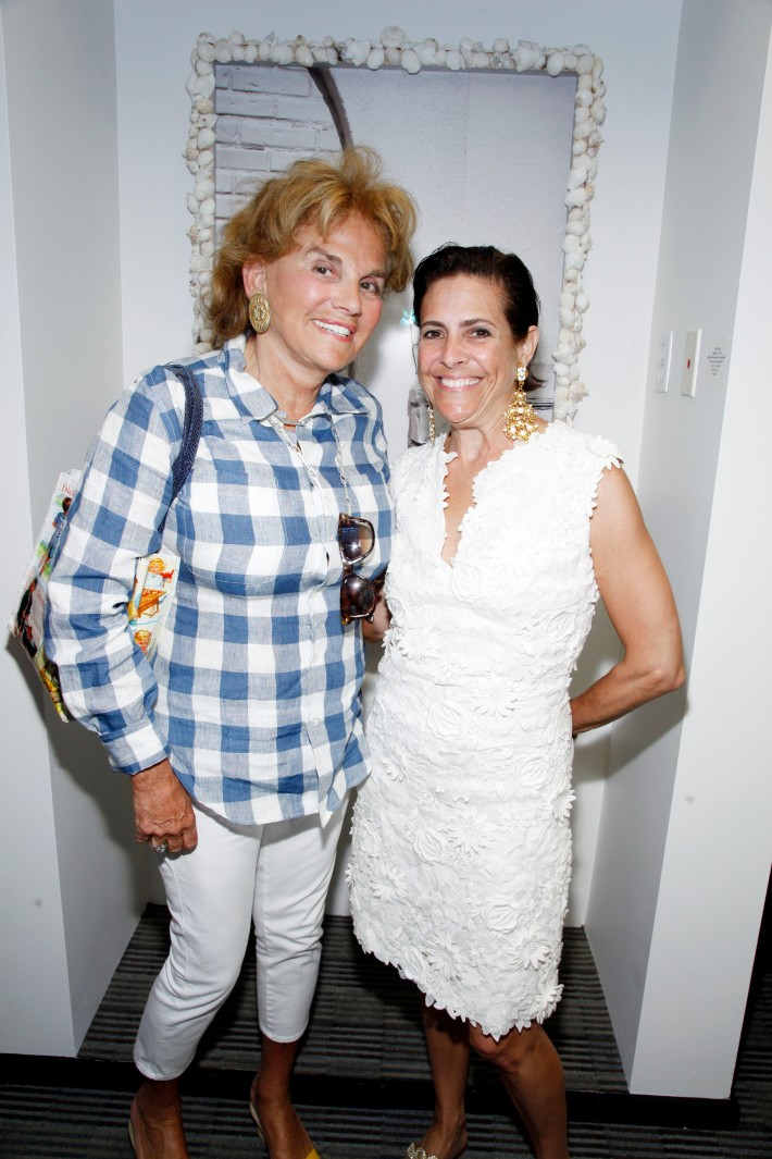Liz Robbins, Alexandra Lebenthal at The Grand Opening of the Lebenthal Bridgehampton Office (Photo by AdrielReboh)
