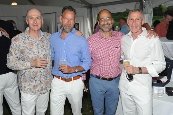 Guests attend The Art of Summer Beach Ball 2014 (Photo by Owen Hoffmann)