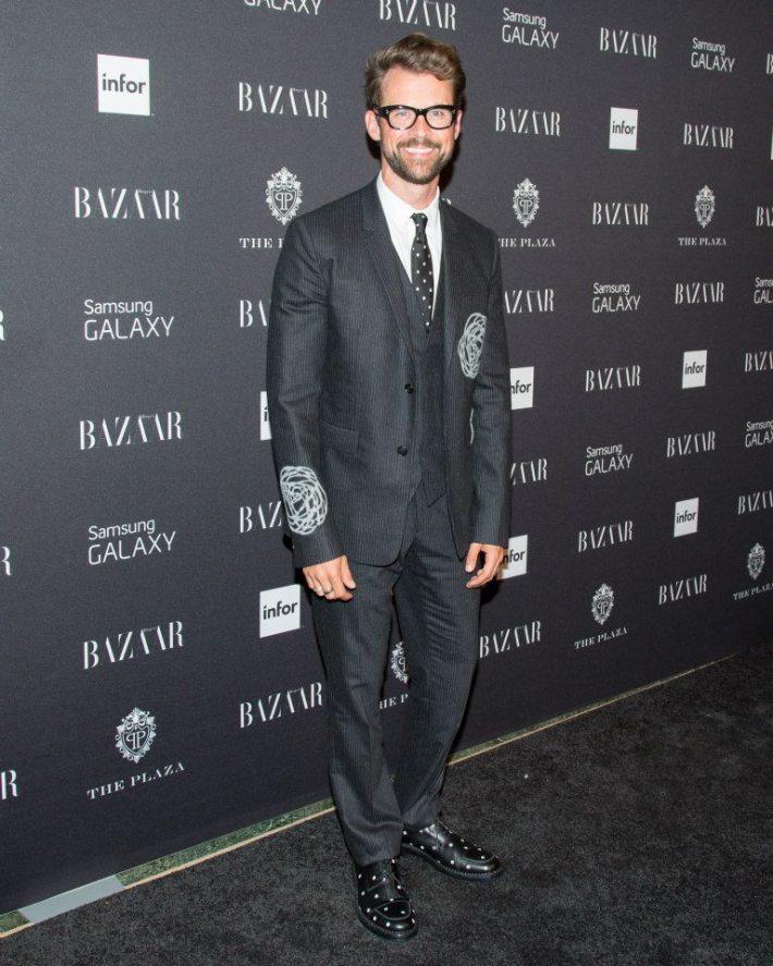 Brad Goreski  attend Harper's BAZAAR celebrates Icons by Carine Roitfeld at The Plaza Hotel