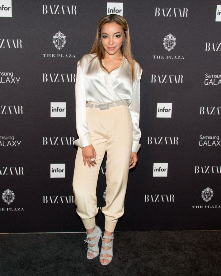 Tinashe  attends Harper's BAZAAR celebrates Icons by Carine Roitfeld at The Plaza Hotel