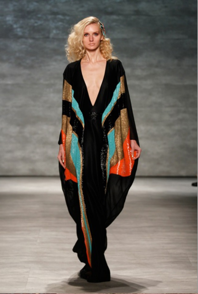 Georgine Spring/Summer 2015 during Mercedes-Benz Fashion Week at The Pavilion at Lincoln Center