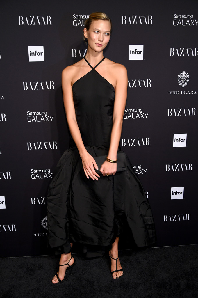 Karlie Kloss attends Samsung GALAXY at Harper's BAZAAR celebrates Icons by Carine Roitfeld at The Plaza Hotel