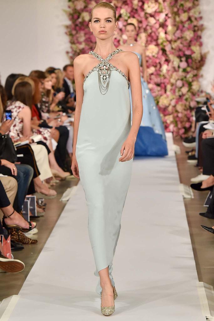 Oscar De La Renta Spring/Summer 2015 Collection - Mercedes-Benz Fashion Week (Photo: FabioIonà)