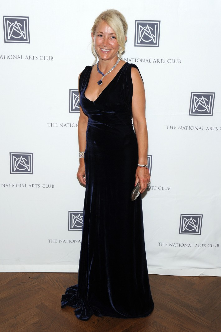 Janna Bullock attends The National Arts Club Presents 'Charles James: Beneath The Dress (Photo by OwenHoffmann)