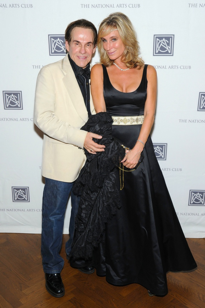 R. Couri Hay, Sonja Morgan attend The National Arts Club Presents 'Charles James: Beneath The Dress (Photo by OwenHoffmann)