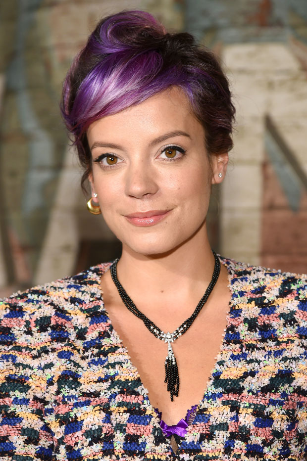 Singer-songwriter Lily Allen attends the CHANEL Dinner Celebrating N°5 THE FILM by Baz Luhrmann